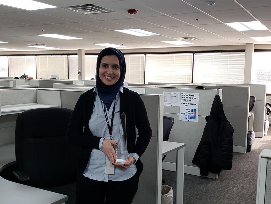 APR employee Sabrine